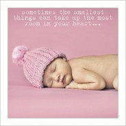 New Baby Girl - Smallest Things