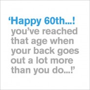60th - Happy 60th