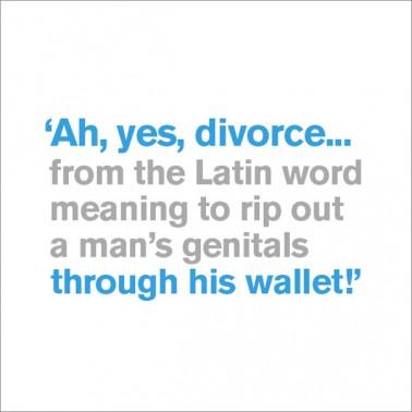 Latin Word for Divorce