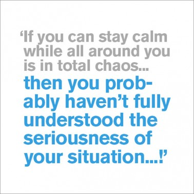 If You Can Stay Calm