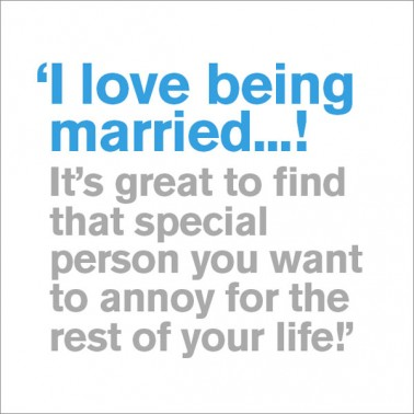 I Love Being Married - Husband Birthday