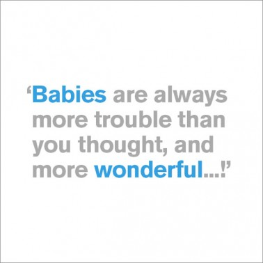 More Wonderful - New Baby