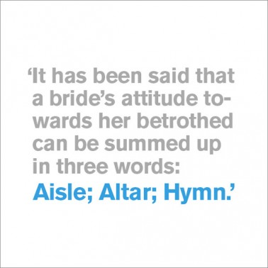 Aisle; Altar; Hymn - Wedding