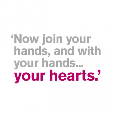 Now Join Your Hands - Wedding