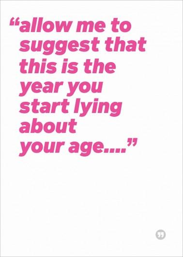 Start lying