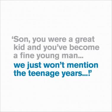 Son -  Teenage Years