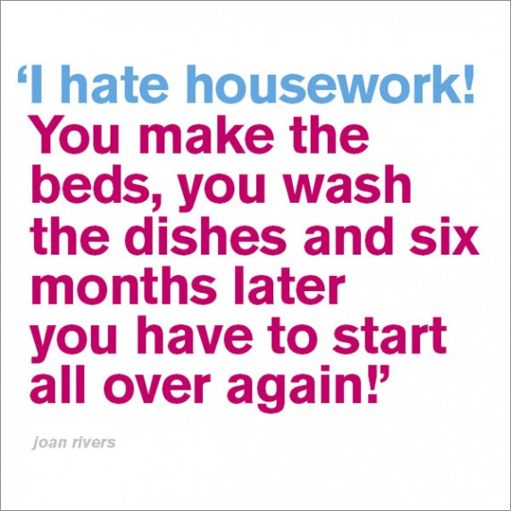 I Hate Housework