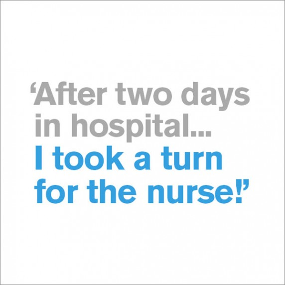 Turn for the Nurse - Get Well Soon