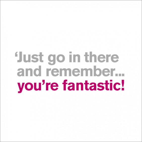 You're Fantastic - Good Luck