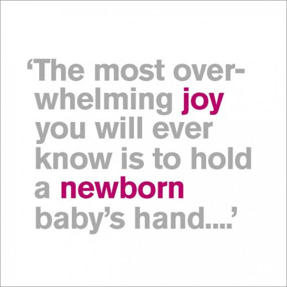 Newborn Baby's Hand - New Baby