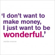 Want to be Wonderful
