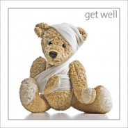 Get Well - Teddy