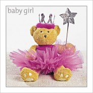 New Baby Girl - Teddy Tutu