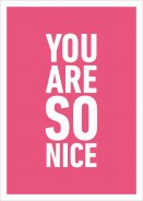 You Are So Nice