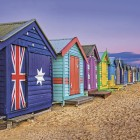 Beach Huts, Melbourne