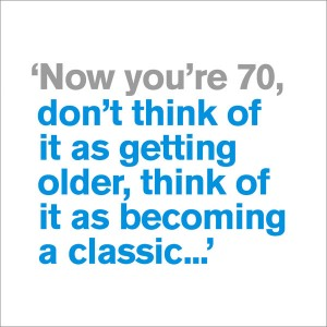 70th - Becoming a Classic