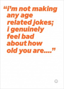 Age-related jokes