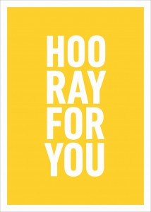 Hooray for You